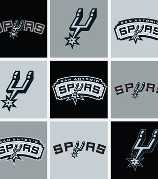 San Antonio Spurs NBA  Fleece Fabric