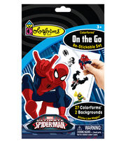 Marvel Spiderman Colorforms® On the Go Re-stickable Playset, , hi-res