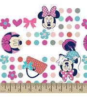 Disney® Minnie Mouse Print Fabric-Minnie Dots, , hi-res