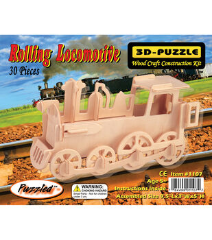Puzzled Inc 3D-Puzzle Jigsaw Train