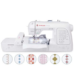 Singer XL-420 Futura Embroidery And Sewing  Machine