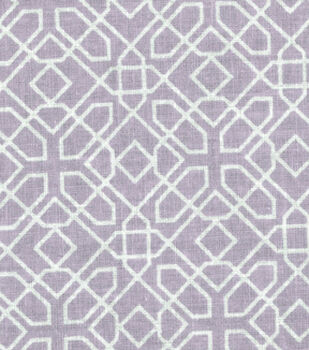 Nursery Fabric - Fair Orchid Diamond