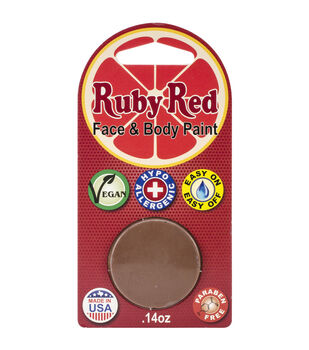 Ruby Red Face Paint .14oz-Pecan