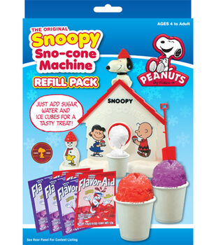 The Original Snoopy Sno-Cone Machine Refill Pack