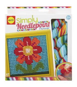 Alex Toys Flower Simply Needlepoint Kit