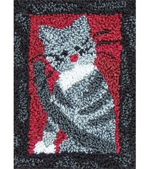 Rachel's of Greenfield Punch Needle Kit Small Cat