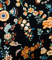 Alexander Henry Cotton Fabric-Speranza Black, , hi-res