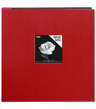 Pioneer Sewn Leatherette Frame Snapload Album 12''x12''