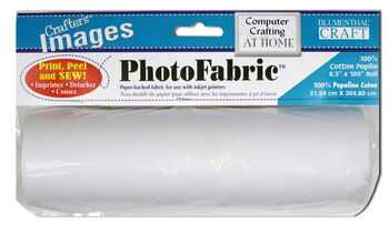 Crafter's Images Photo Fabric 100% Silk Habotai Roll