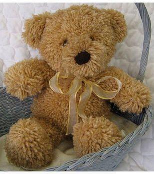 Huggables Teddy Stuffed Toy Latch Hook Kit