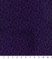 Keepsake Calico™ Cotton Fabric-Elegant Vine Purple, , hi-res