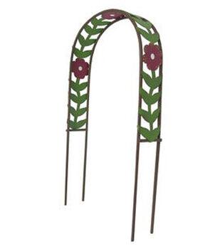 Fairy Garden Metal Flower Arch