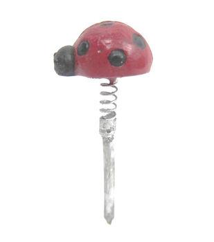 Fairy Garden Resin Pick-Ladybug