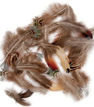 .25 oz. Feathers Pheasant Plumage-Natural