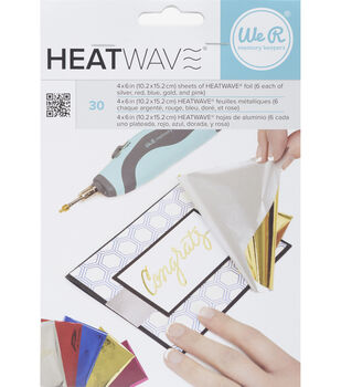 We R Memory Keepers™ 30ct 4''x6'' Heatwave Foil Sheets