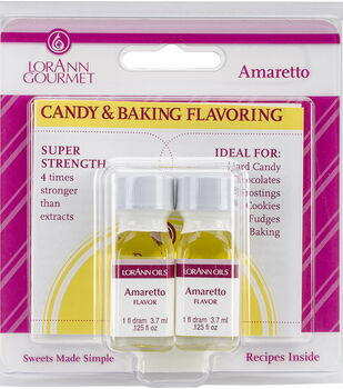 Candy & Baking Flavoring .125oz Bottle 2/Pkg
