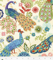 Keepsake Calico™ Cotton Fabric-Royal Peacock, , hi-res