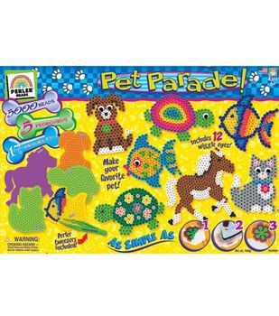 Creative Kid Value Gift Box Bead Activity Kit-Pet Parade