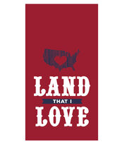 Sea to Shining Sea 16ct Paper Guest Towels-Land I Love, , hi-res