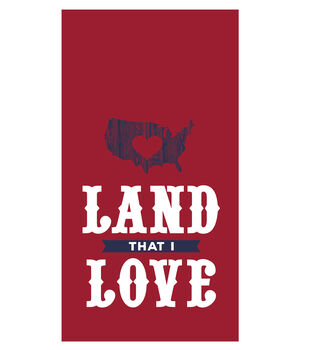 Sea to Shining Sea 16ct Paper Guest Towels-Land I Love