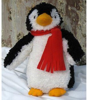 "MCG Textiles Huggables Penguin Stuffed Animal Latch Hook Kit-15"" Tall"