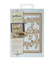 Spellbinders® Nestabilities Card Creator Die-Candy Cane Card Front, , hi-res