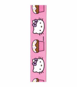 Hello Kitty Pink Cupcakes Ribbon