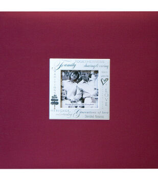 8''x8''Expressions Postbound Album-Family