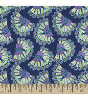 Springmaid® Cotton Fabric-Amelia Peacock, , hi-res