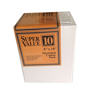 "Jo-Ann Stores Stretched Canvas Super Value Pack 8""x10"""