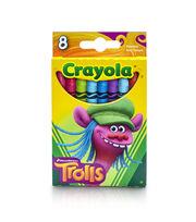Crayola Dreamworks Trolls 8ct Crayons-Cooper, , hi-res