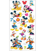 EK Success Disney Large Flat Sticker-Mickey & Friends, , hi-res