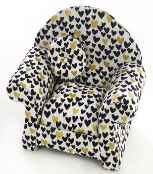 Dritz Pincushon Chair-Curved Hearts