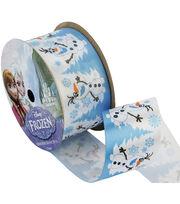 "Frozen Ribbon 1-1/2""x9'-Olaf Snowy, , hi-res"