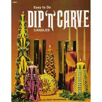 Yaley Candle Crafting Scentsational Book Dip N Carve Candles