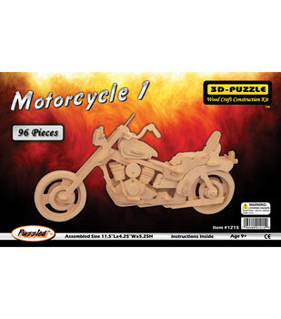 Puzzled Inc 3D-Puzzle Jigsaw Motorcycle