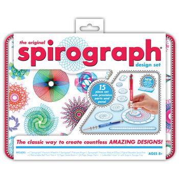 Kahootz Spirograph Design Set With Tin