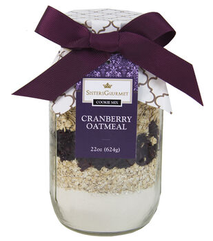 Sisters' Gourmet Layered Cookie Mix, Elizabeths Cranberry Oatmeal