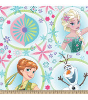 Disney® Frozen Framed Character Toss Fleece Fabric, , hi-res