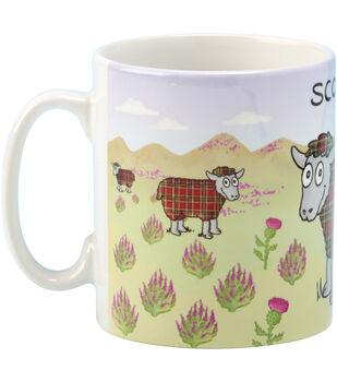 Vanessa Bee Designs Coffee Mug-Tartan Sheep