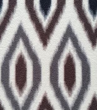 Southwest Fabric- Large Ikat Multi Fleece