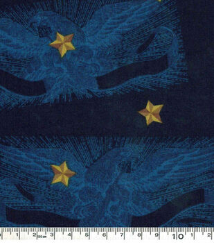 Eagles On Blue