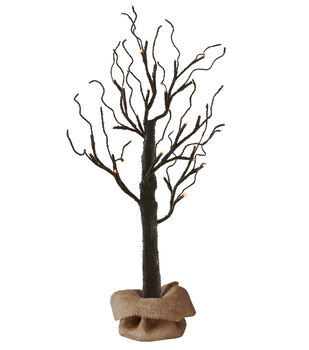 Maker's Halloween 2 Foot LED Halloween Tree