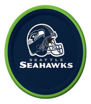 Seattle Seahawks NFL Luncheon Plate, , hi-res