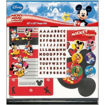 """Mickey Mouse&Friends 12""""X12"""" Page Kit"""