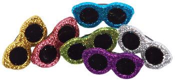 Dress It Up Embellishments-Glitter Sunglasses