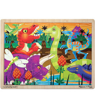 Melissa & Doug Prehistoric Sunset (Dinosaurs) Jigsaw (24 pc)