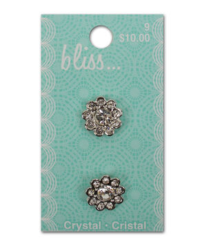 Bliss Crystal Button