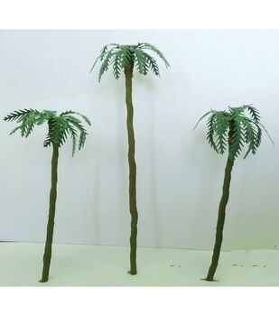 "Palm Trees 1"" To 3"" 4/Pkg-"