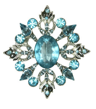 Laliberi Rhinestone Large Diamond Pin